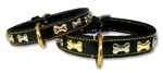 designer leather dog collar (6282 bytes)